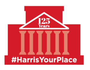 #HarrisYourPlace logo