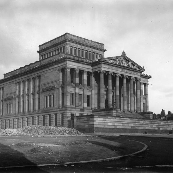 A photograph of the Harris from 1900s