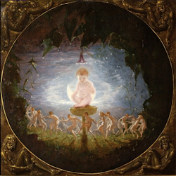 Puck, by Richard Dadd, bought with a gift in the will of Dorothy Wade