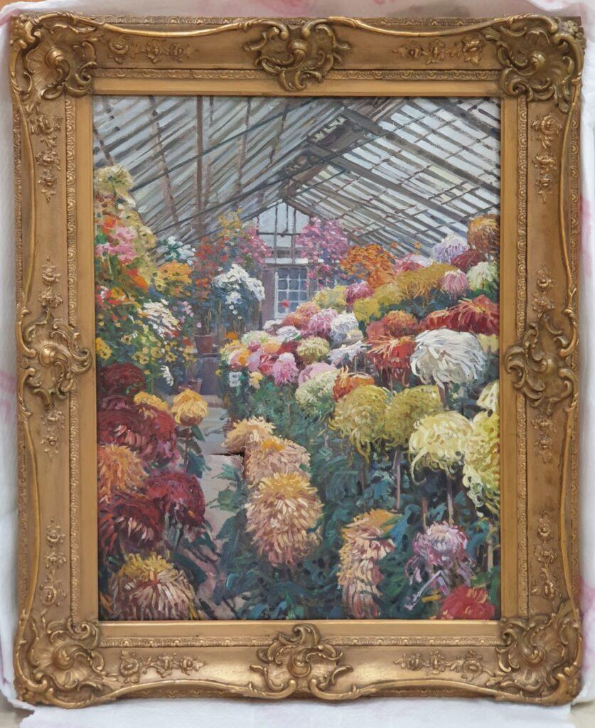 Preston Corporation Chrysanthemum House in 1921 by Albert Woods