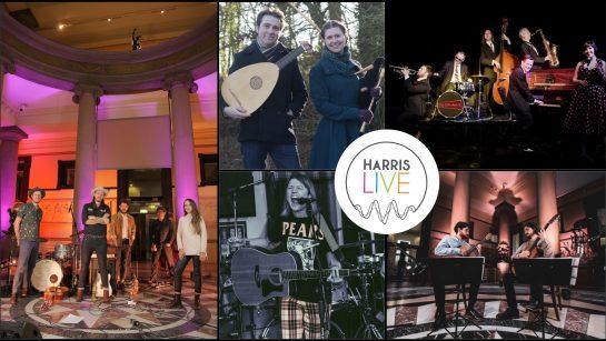 Harris Live Header collage