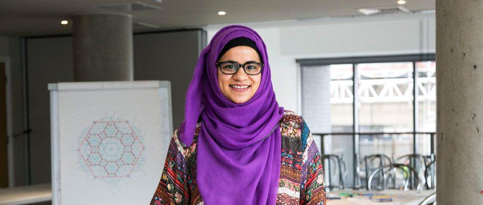 Samira Mian smiling