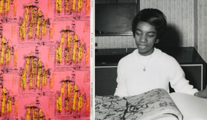 Althea McNish and her fabric design 'Painted Desert'
