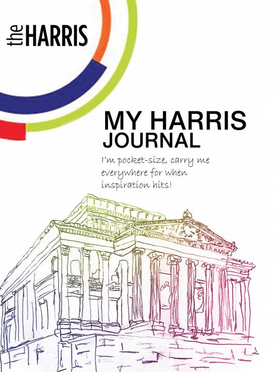 My harris journal front cover of activity booklet