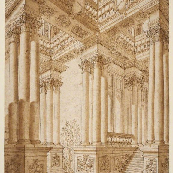 Image of the drawing Architectural Fantasy
