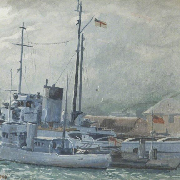 Image of the painting HM Rescue Tug
