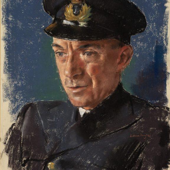 Image of the pastel Lieutenant E R W Daish