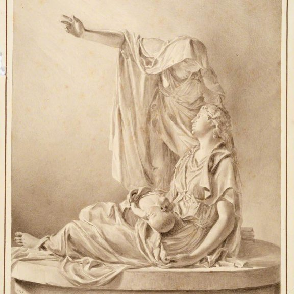 Image of the drawing Monument of Mrs Howard
