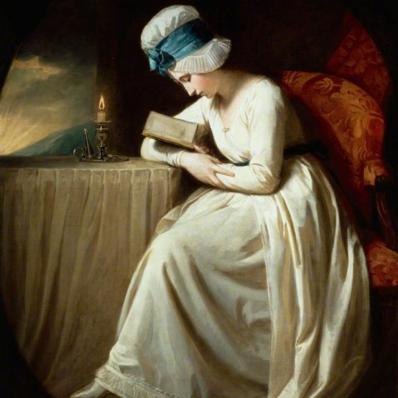 Image of the painting Serena Reading