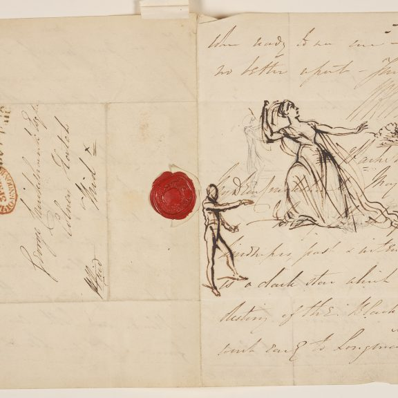 Image of Sketches on a Letter