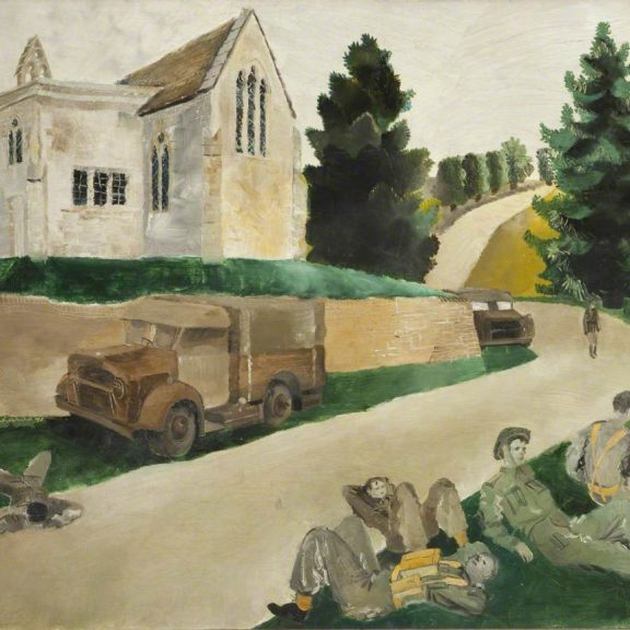 Image of the painting The Minute Halt