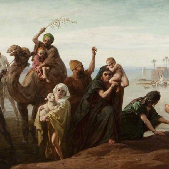 Image of the painting The Sudden Rising of the Nile