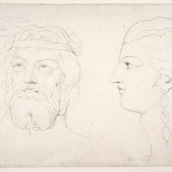 Image of the drawing Visionary Heads